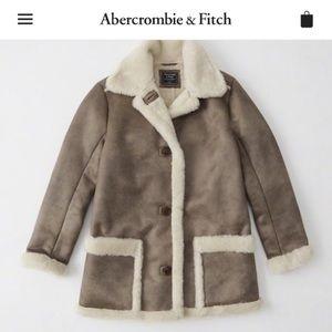 Abercrombie Faux Shearling Coat